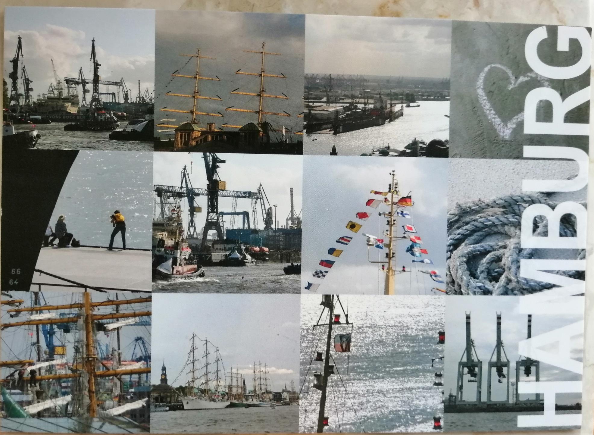 """Step in Warsaw - Stadtführerin in Warschau. Ein süßes Dankeschön von meiner Gruppe aus Deutschland, aus Hamburg nach dem Tour: """"Auf den Spuren der Zeit des Kommunismus in Warschau"""". Vielen Dank und bis zum nächsten Mal! Eine Postkarte aus Hamburg als..."""