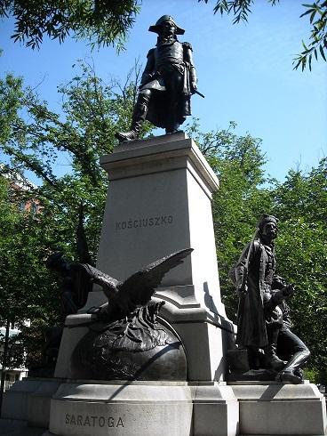 Step in Warsaw - Stadtführerin in Warschau. Das Tadeusz Kościuszko-Denkmal in Washington, D.C. Quelle: https://en.wikipedia.org/wiki/Statue_of_Tadeusz_Kościuszko_(Washington,_D.C.).