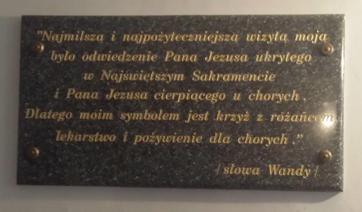 Step in Warsaw - Przewodnik po Warszawie. Słowa Sługi Bożej Wandy Malczewskiej. Parzno, luty 2018.