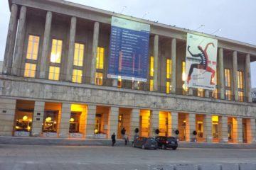 Step in Warsaw - Przewodnik po Warszawie. Teatr Wielki w Łodzi. Łódź, luty 2018.