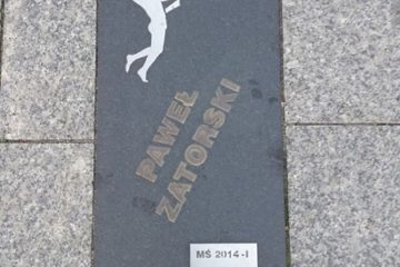 Step in Warsaw - City guide to Warsaw. Libero Paweł Zatorski on the Volleyball Walk of Fame in Bełchatów. It must be added WC 2018-1.:)