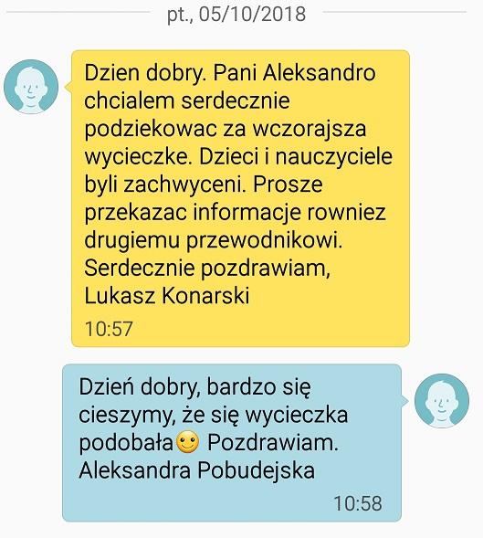 Step in Warsaw - Przewodnik po Warszawie. Grupa szkolna.